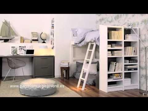 Muebles Lacados Literas Tren Muebles Macizos Muebles