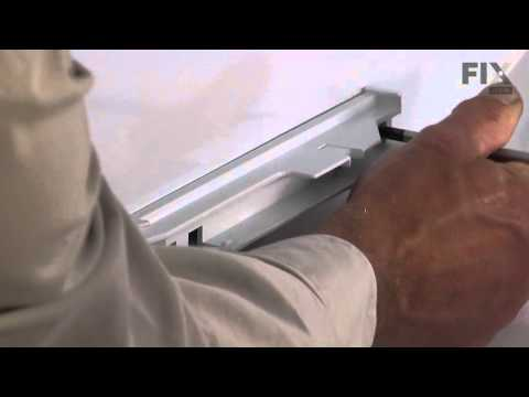Ge Refrigerator Repair How To Replace The Drawer Slide