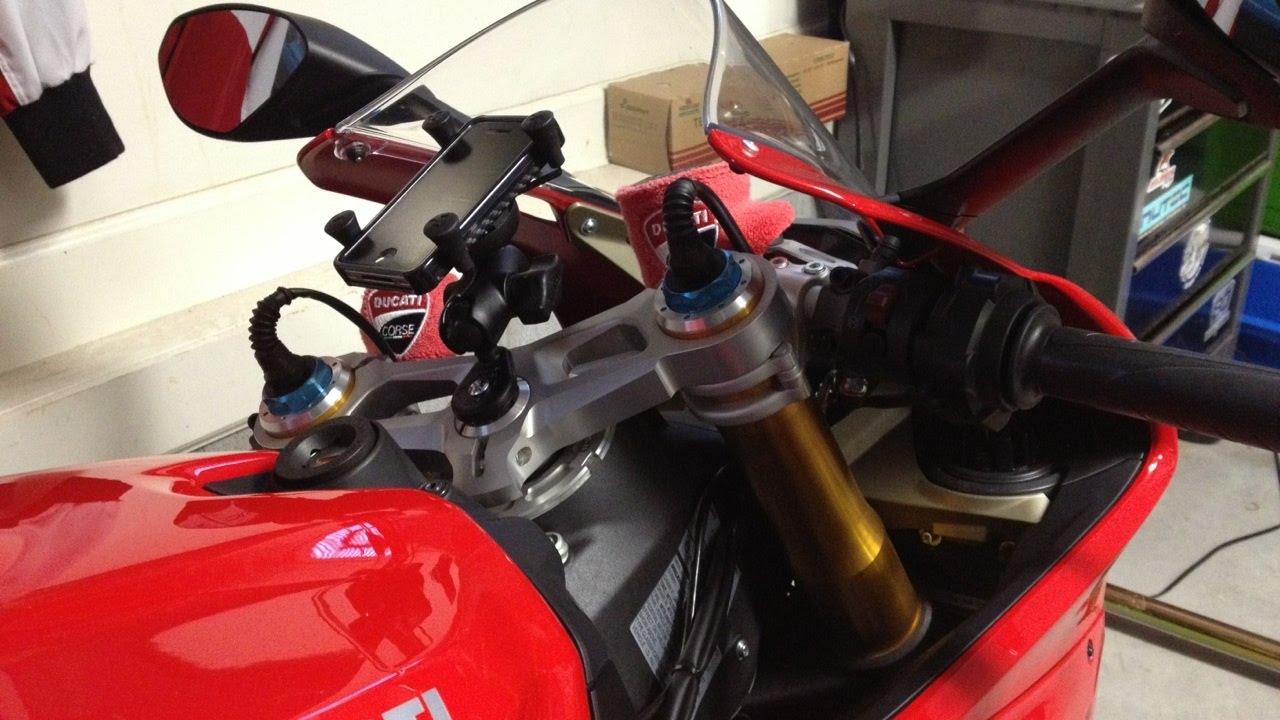 Ducati Steering Stem Ram Mount