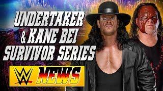 Undertaker & Kane bei Survivor Series?, Hat Nia Jax auch WWE verlassen? | WWE NEWS 75/2017