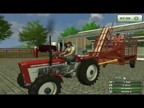 Farming Simulator Saturday    Lots of new old skool tractors mods barley and potato