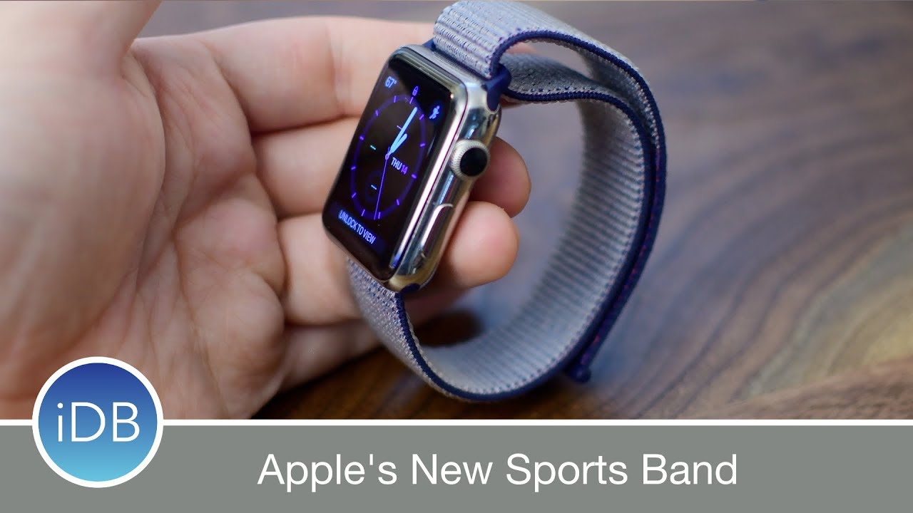 Hands On Apple S Sport Loop Watch Band Review Youtube