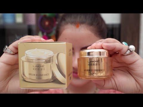 Lakme absolute argan oil radiance oil in gel review & demo |