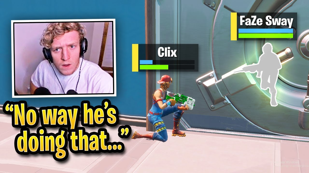 CLIX Makes PRO PLAYERS Look DUMB in FNCS Reboot Round! (Fortnite) thumbnail