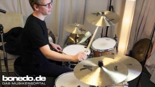 Zildjian K Profi Promo Pack Cymbals Sound Demo (no talking)