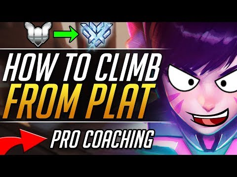 STUCK IN PLAT - DVA Gameplay Tips and Tricks   Overwatch Guide