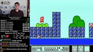 (52:43) Super Mario Bros. 3 Warpless speedrun