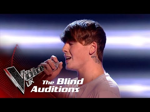 Bailey Nelsen Performs 'There's Nothing Holdin' Me Back': Blind Auditions | The Voice UK 2018
