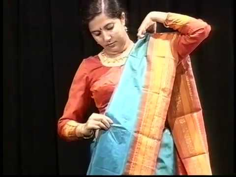 8e9d7926b71 Draping the Sari - YouTube
