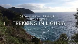 Trekking in Liguria - Deiva Marina - Framura - Bonassola - Genova - Italy