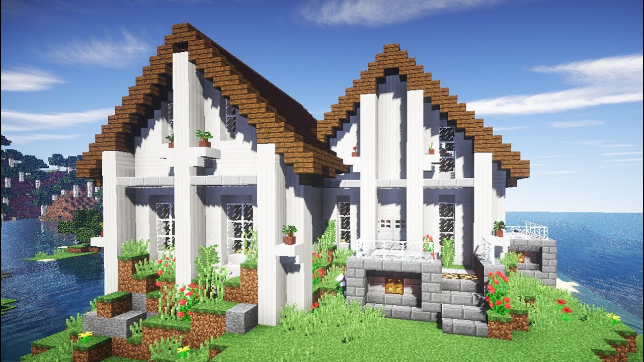 Майнкрафт как сделать дом мечты фото 409