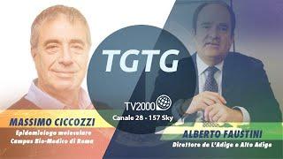 TGtg, 25 ottobre 2021 - Massimo Ciccozzi e Alberto Faustini