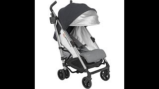 UPPAbaby G-LUXE Stroller, Charcoal/Silver, Jordan
