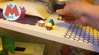 кукольный домик  Обзор кукольного домика сделанного своими руками Видео для детей