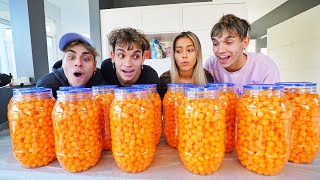 First To Finish Cheese Balls Wins $10,000!