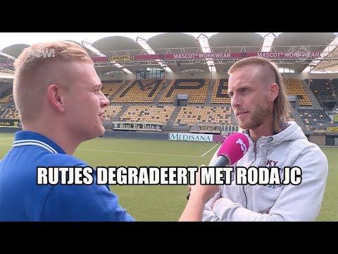 Nathan Rutjes degradeert met Roda JC