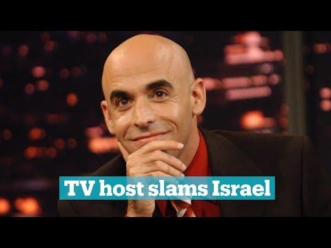 Israeli TV host slams government for treatment of Palestinians