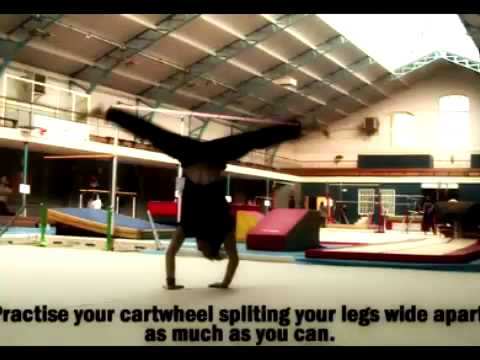 Trick Art, How to do Parkour (Roue and Salto): Trick Eye stands for