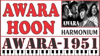Awaara Hoon - Awaara (1951) - Harmonium Cover