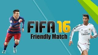 Fifa 16 // Friendly Match || Oostende - Genk