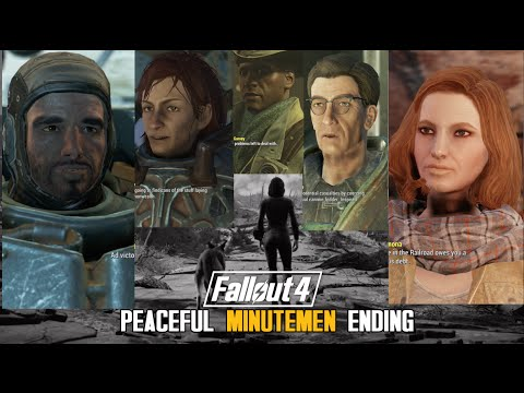 Fallout 4 : Conversations after Peaceful Minutemen Ending with Three Factions