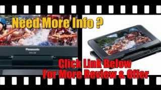 Panasonic Portable DVD Player! Panasonic DVD-LS86 8.5-Inch Portable DVD Player REVIEW?