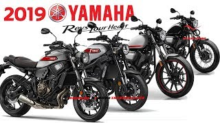 Download lagu All New 2019 Yamaha Sport Heritage Motorcycles 2019 New Yamaha XSR Series Bolt Series Model 2019 MP3