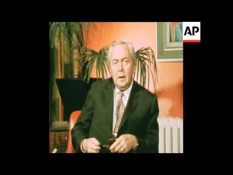 SYND 18 2 75 HAROLD WILSON INTERVIEW ON TRADE AGREEMENT