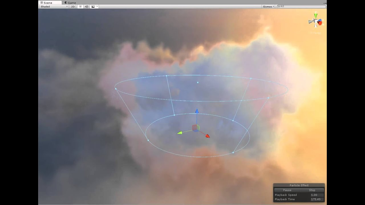 Unity Custom Cloud shaders
