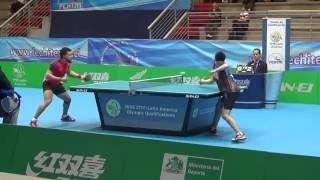 Preolímpico 2016: Juan Lamadrid (CHI) vs Andy Pereira (CUB)