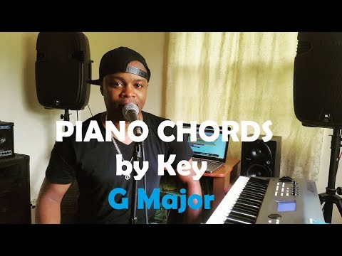 Chords by Key - Piano Chords in the Key of G Major