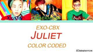 EXO-CBX (첸백시) - Juliet  Sub. Español + Color Coded  (HAN/ROM/ESP) MP3