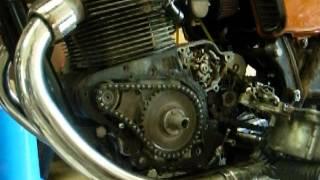 yamaha tx750 starter clutch chain mod