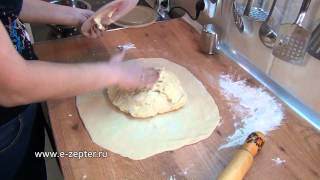 Слоёное тесто / How to make Puff pastry ♡ English subtitles