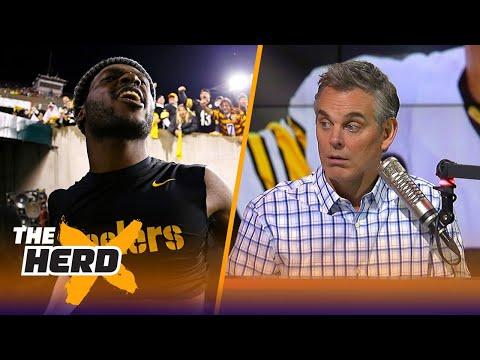 Colin Cowherd on the Steelers' Week 13 win, JuJu Smith-Schuster's suspension | THE HERD