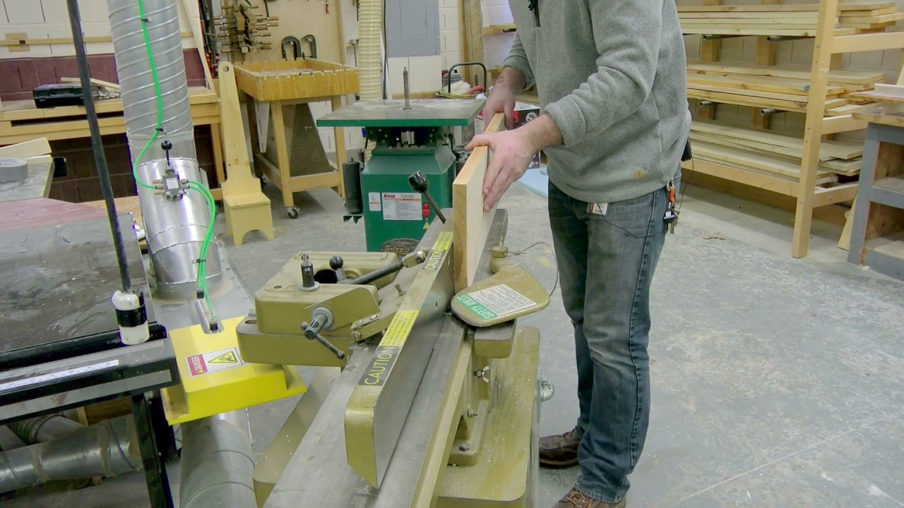 How To Use A Jointer Video