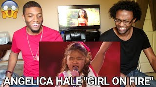 angelica hale 9 year old earns golden buzzer from chris hardwick agt 2017 reaction