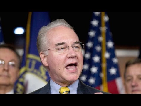 Stunningly Corrupt Tom Price Perfect For Trump Administration