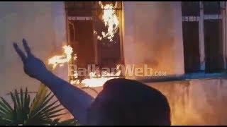 Tensione për KZAZ në Shkodër, i vihet flaka shkollës