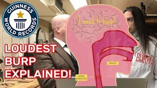 The World's Loudest Burp - Science & Stuff Explained