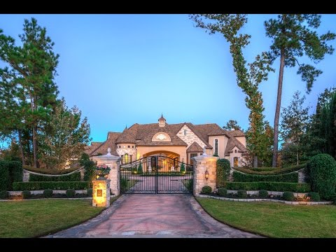 The Woodlands Houston Texas Mansion For Sale | 12,000 Sq Ft Golf Property