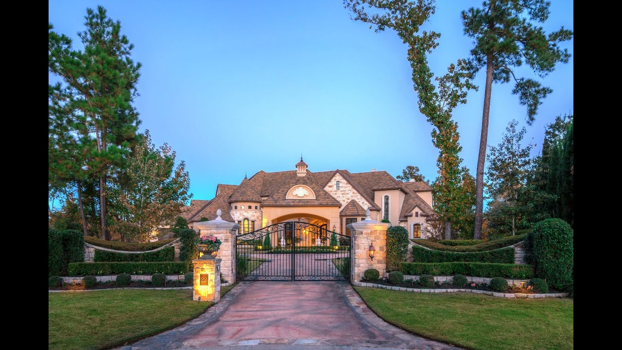 The Woodlands Houston Texas Mansion For Sale 12 000 Sq