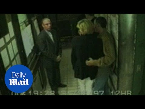 Princess Diana And Dodi Al-Fayed Leave Hotel On Night They Died - Daily Mail