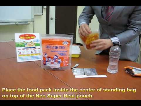 By Myungjin: Neo Super Heat - Self heating pack