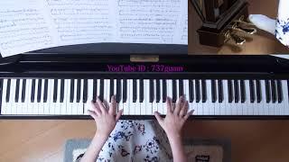 使用楽譜;@エリーゼ、 難易度(上級)、採譜者:内田ゆう子、 ぷりん...