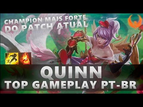 O CHAMPION MAIS FORTE DO PATCH ATUAL! QUINN TOP GAMEPLAY [PT-BR]
