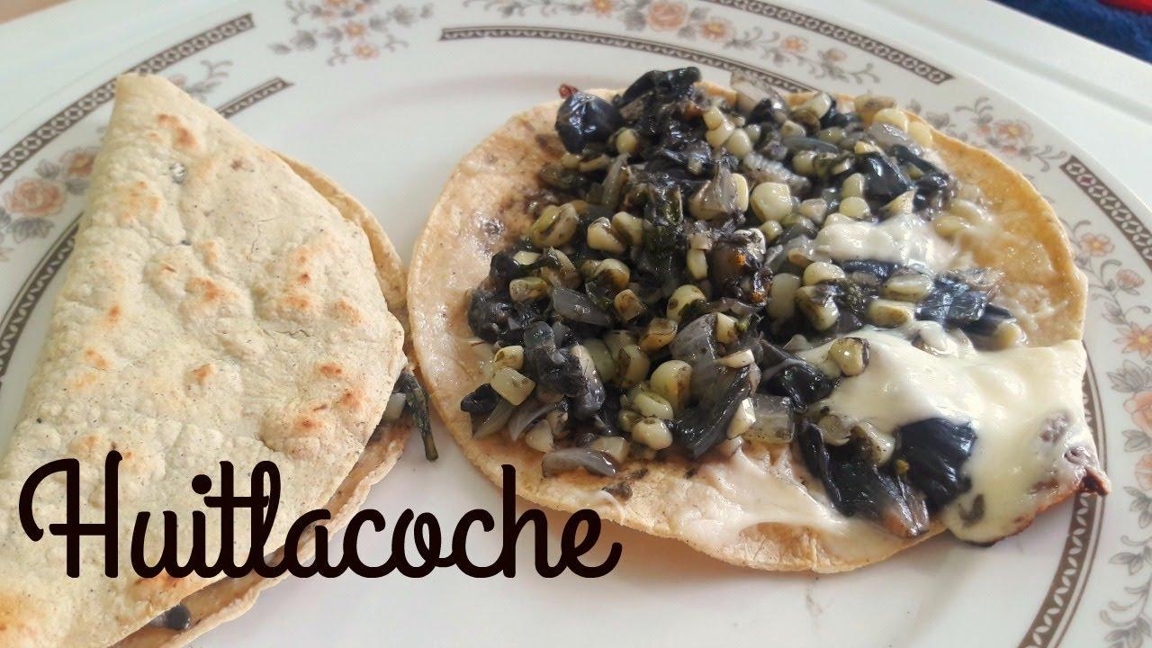 Como Preparar Dobladitas De Huitlacoche O Quesadillas Guisos Cocina Tradicional Mexicana Youtube