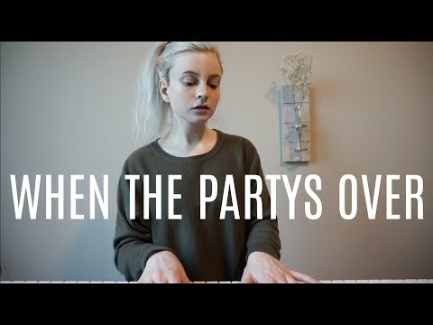 When The Partys Over - Billie Eilish (Holly Henry Cover)