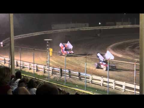 EWSC Racing MSA Sprint Car Feature 7/6/2012