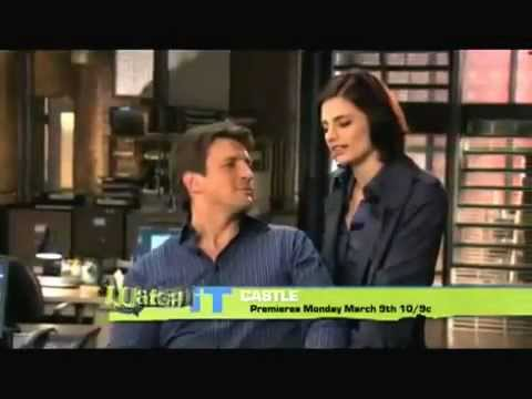 Castle Nathan Fillion and Stana Katic interview 2009